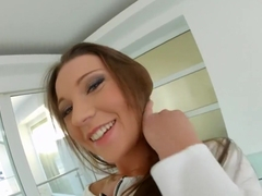 Julie Skyhigh loves taking a messy ride