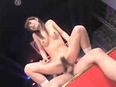 Ann Nanba swallow cum in club