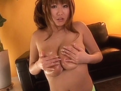 Bukkake sperm shots on sensual japanese chick and silly group sex