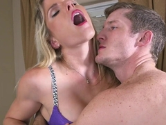 Stepmom Cory Chase giving sex tips to Sadie Kennedy