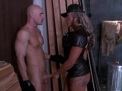 Hot sex scene with wonderful pornstars Carmen Jay and Johnny Sins