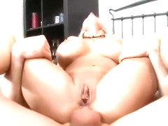 Godly blonde MILF Holly Halston having her anal filled
