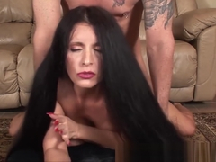 Foxy Anya Fucked While Long Hair Is Pulled