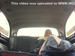 Horny Russian Jenny Manson teases and fuck the driver
