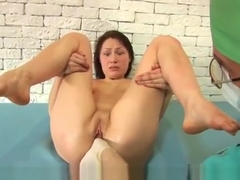 Special gyno exam for young lady