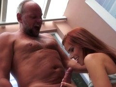 Susana Melo gets fucked by a grandad