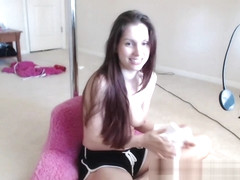 Lelu Love-WEBCAM: Stretching And BTS Dildo Blowjob