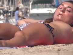 Topless Beach Bikini Voyeur HD Hiddencam spy