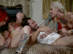 Exotic pornstars Kleio Valentien, Tommy Pistol, Sheena Rose in Crazy Emo, Big Tits porn movie