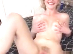 Catie Parker Gets Naked And Masturbates