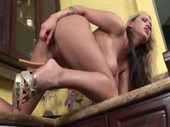 Wankz- Memphis Monroe Naughty In Kitchen
