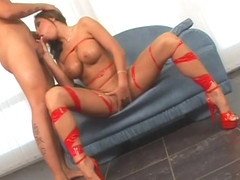 Amazing sex clip Brunette , take a look