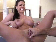 Brunette milf hardcore with swallow