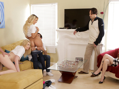 Carmen Caliente & Gia Love in Freaky Family - NUBILESPorn