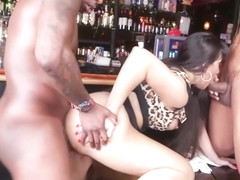 Bootylicious Cougar Mercedes Carrera Gets Impaled