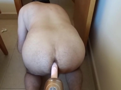 Sunday morning anal fuck machine