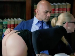 TUSHY Curvy AJ Applegate Punished By Her Boss