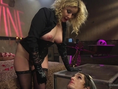 Maitresse Madeline Marlowe & Will Havoc & Tony Orlando in Honeymoon Cuckold At Hotel Divine - Divi.