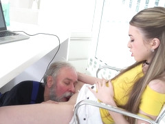 Empera - Old man fucks a fresh babe