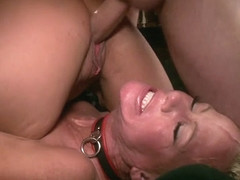 Wolf Hudson & Holly Heart & Simone Sonay in Kinky Milf Sex Slaves Service Hot Stud Dick - TheUpper.