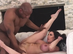 Hot sexy milf suck & fuck in backstage with bbc