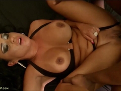 Busty Milf Loves Big Black Cock