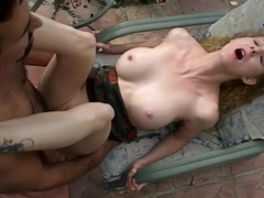 Annie Body And Mickey G Have Some Fun Outside