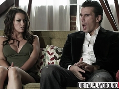 Raven Alexis Manuel Ferrara - Teen loves a rough blowjob and fuck - Digital Playground