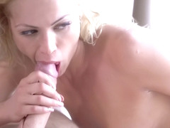 Michael Fly, Michael Vegas And Cherry Kiss - Nothing Is Hotter Than A Horny Blond In White Lingeri.