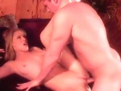 sexy blonde nicole loves to grind on cock