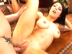Beverly Hills loves to suck cock, almost as much as she loves to drink cum