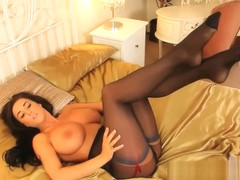 Stacey Poole - Pink silk dress | Layered Nylons's video