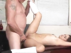 Legal age co-ed Gigi Rivera is acting in blowjob porn action