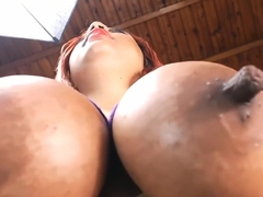Bhianka - Huge Nipple Worship and Titfuck