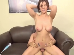 Cali Marie Enjoys Getting Slammed Hard