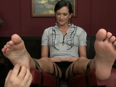 Tess Lyndon Foot Tickled