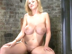 Comely Katie Kox featuring real BDSM action
