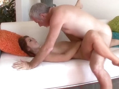 Naughty Ariana Grand seduces not stepdaddy into fucking her