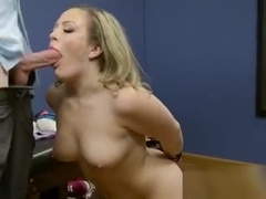 Married Hottie Carmen Valentina Blows Her Hung Lawyer