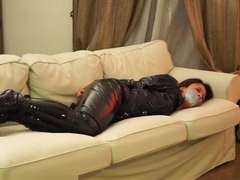 Amazing porn movie Hogtied wild only here