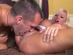 Dick sucking with stunning Michelle Thorne