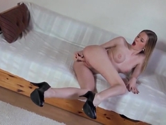 Comely busty British Angel Hott