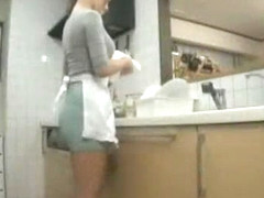 Exotic Japanese chick Reiko Kobayakawa in Horny Kitchen, Big Tits JAV scene