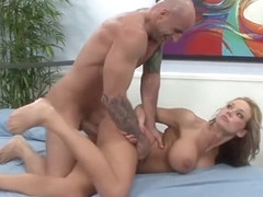 Amateur MILF Cuckolds Fat Husband with Muscle Stud