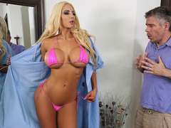 Nicolette Shea & Mick Blue in Brand New Bimbo - BrazzersNetwork