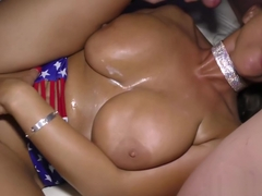 oiled big boobs flexible Sexy Susi gets banged