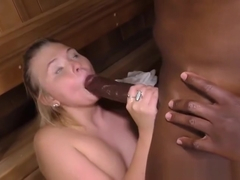 Incredible Melissa May getting cock been blowed