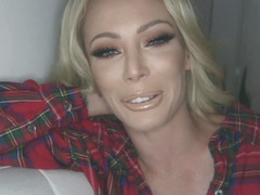 Hot blonde bitch, Isabelle Deltore cant stop screaming from pleasure during a wild fuck with her ex