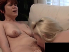 Young Babe Samantha Rone Is Fucked By Wild Lesbo Lily Cade!