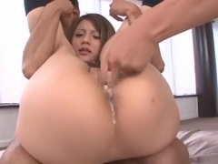 Hottest Japanese model Risa Tsukino in Exotic Blowjob, Small Tits JAV clip